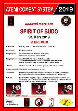 2019 03 23. spirit of budo